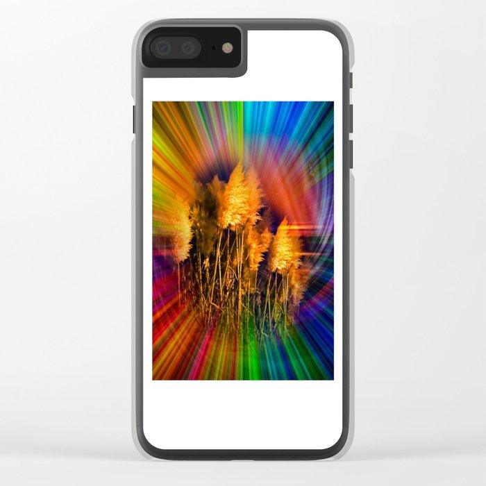 autumn impression Clear iPhone Case