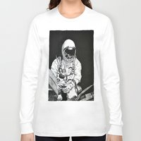 spaceman Long Sleeve T-shirts featuring Spaceman by Bri Jacobs