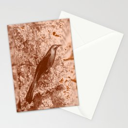 ghost raven Stationery Cards