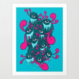 Of The Beholder V2 Art Print