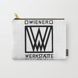Wiener Werkstaette of America Carry-All Pouch