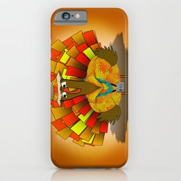 Vacation Turkey Illustration iPhone Case