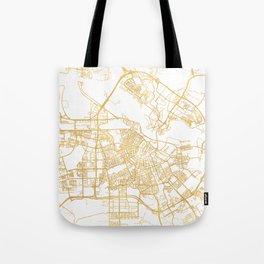 AMSTERDAM NETHERLANDS CITY STREET MAP ART Tote Bag