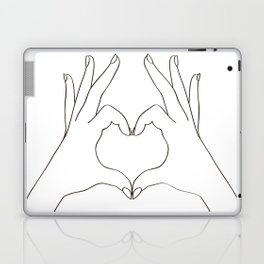 Love Heart Laptop & iPad Skin