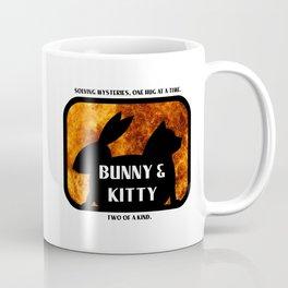 Bunny and Kitty Two of a Kind Coffee Mug
