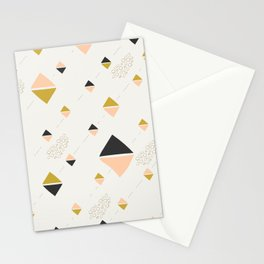 Abstract rhombuses Stationery Cards