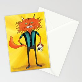 'Lucky Strike Champion Bowler' Stationery Cards