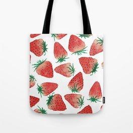 Strawberry Love Tote Bag