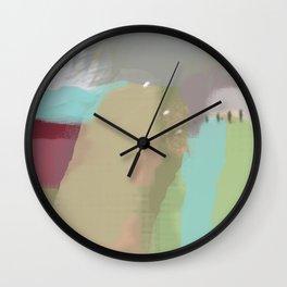 Tree Line #Society6 #decor #abstract Wall Clock