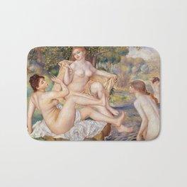 """Pierre-Auguste Renoir """"Les grandes baigneuses"""" Bath Mat"""