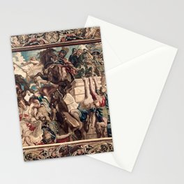 Triumph of Constantine over Maxentius at the Battle of the Milvian Bridge Stationery Cards