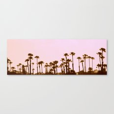 The Palm Trees Canvas Print
