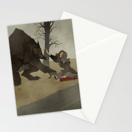 The Beast of Bray Road Stationery Cards