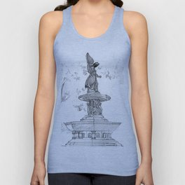Belvedere Fountain, Central Park, NY Unisex Tank Top