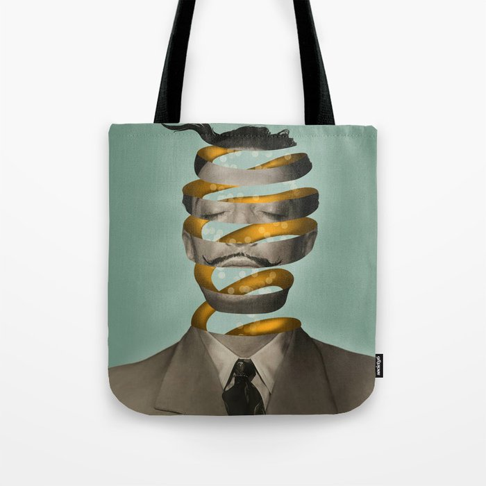 Inside the mind  Tote Bag