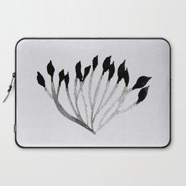Baesic Mono Floral (Leaf 3) Laptop Sleeve