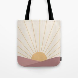 Morning Light - Pink Tote Bag