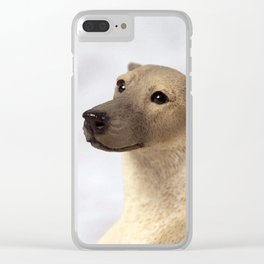 Faithful Friend Clear iPhone Case