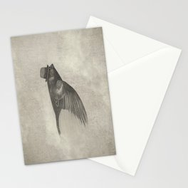 Old Soul (mono) Stationery Cards