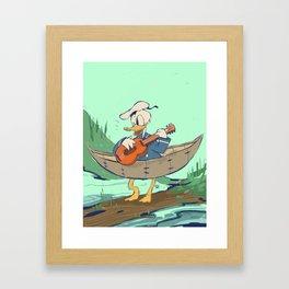 Donald's Vacation Framed Art Print