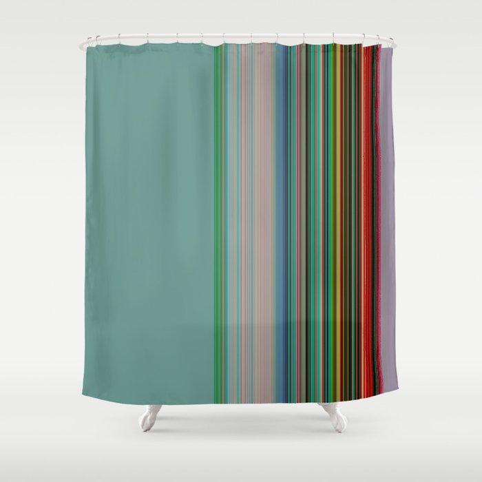 Serape Light Shower Curtain