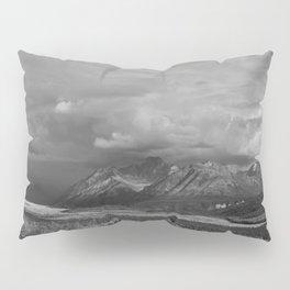 Matanuska Glacier Mono Pillow Sham