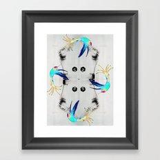 Dancing on the bones Framed Art Print