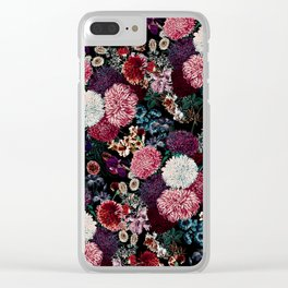EXOTIC GARDEN - NIGHT VIII Clear iPhone Case
