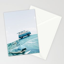 Let's go surfing Stationery Cards
