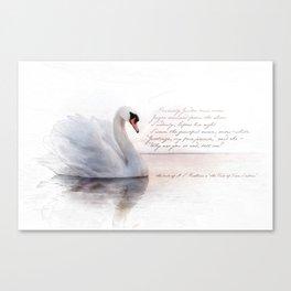 The Swan Princess Canvas Print