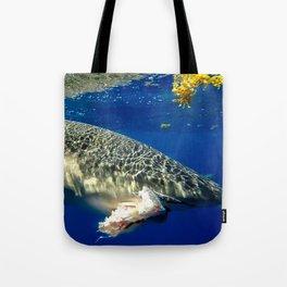 Shark Snack Tote Bag
