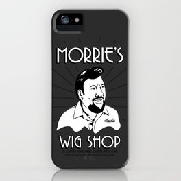 Goodfellas, Morrie's Wigs Shop Sign  iPhone Case