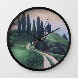 Road Home Wall Clock