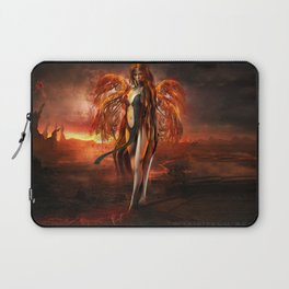 With fire Laptop Sleeve