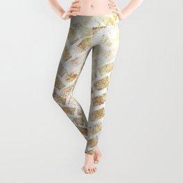 Glam Herrigbone Leggings