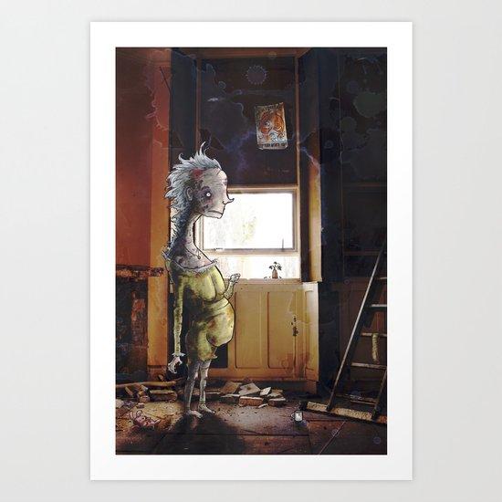 Asylum Art Print