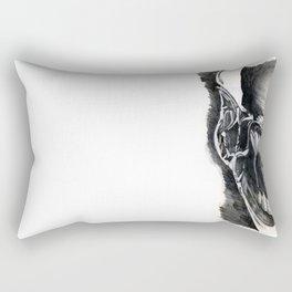 Alien Face. Rectangular Pillow