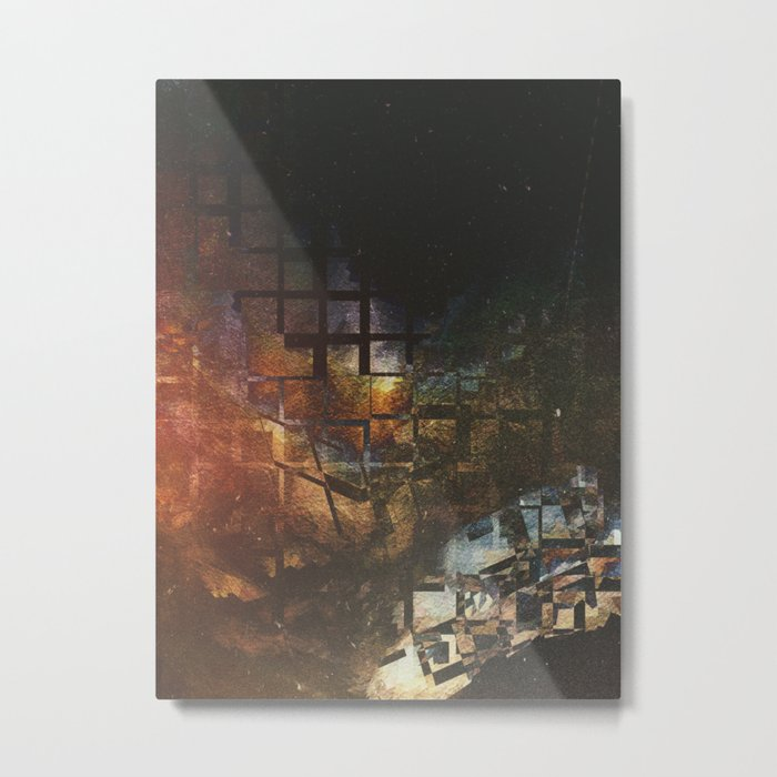 [02.25.17] Glimpse thru the Cracks of Reality Metal Print