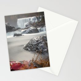 Fall at Middle Falls Stationery Cards