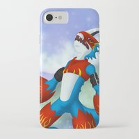 digimon iPhone & iPod Cases featuring Flamedramon by Zaukhes