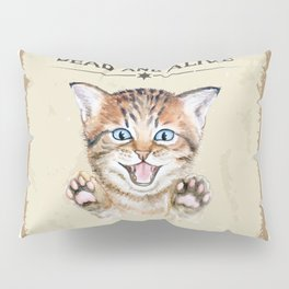 Dead and Alive Pillow Sham