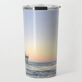 Sunset Pier Travel Mug