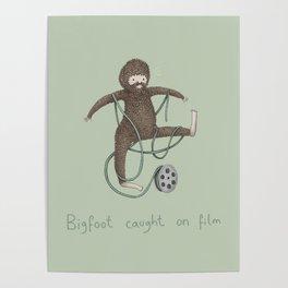Bigfoot Caught on Film Poster