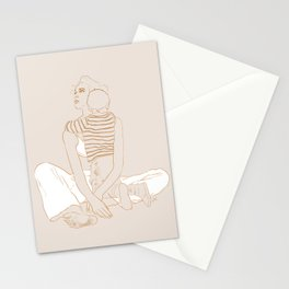 Mother And Son Stationery Cards