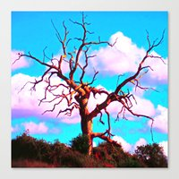 tree of life Canvas Prints featuring TREE LIFE by SPACEZING