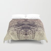 ohm Duvet Covers featuring ohm by anitaa