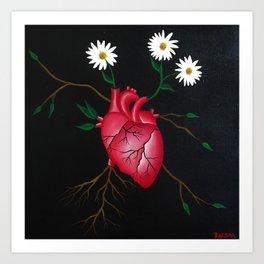 Journey of a Broken Heart Art Print