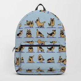 German Shepherd Yoga Backpack