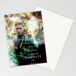 Half Goddess Stationery Cards
