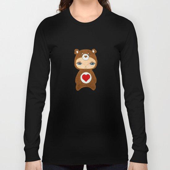 A Boy - Tenderheart Bear Long Sleeve T-shirt